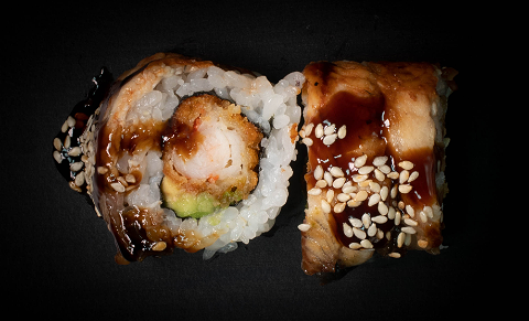 Foto Flaming Dragon Roll (4 stuks)